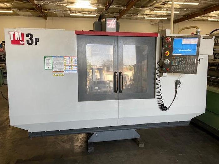 Used HAAS TM3P CNC MACHINING CENTER 40 X 26 X 16 XYZ