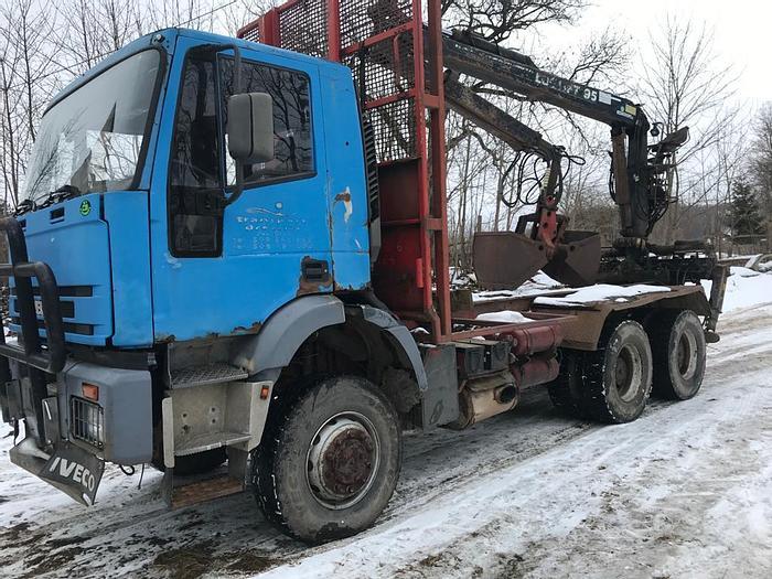 Gebruikt 1994 Iveco 260 E 34 6x4  full steel , manual pump