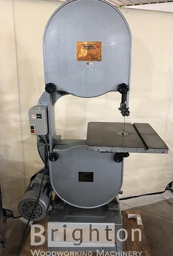 "Used 1987 Busy Bee ST-WBS180 18"" Used Band Saw"