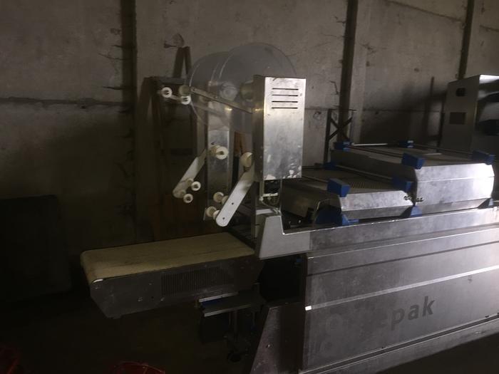 Tiefzieh Verpackungsmaschine Sealpac Wipperfürth