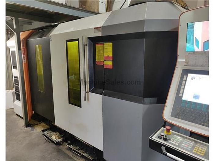 2018 8000 Watt Ermak Fibermak G-Force Fiber Laser Cutting Machine