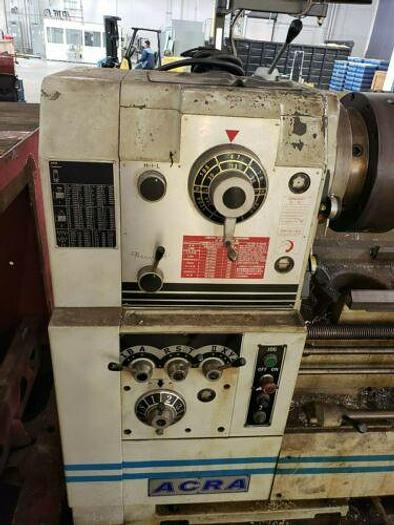 LATE MODEL ACRA MODEL ACH 26120 HIGH QUALITY LATHE IN IMPECCABLE CONDITION W DRO