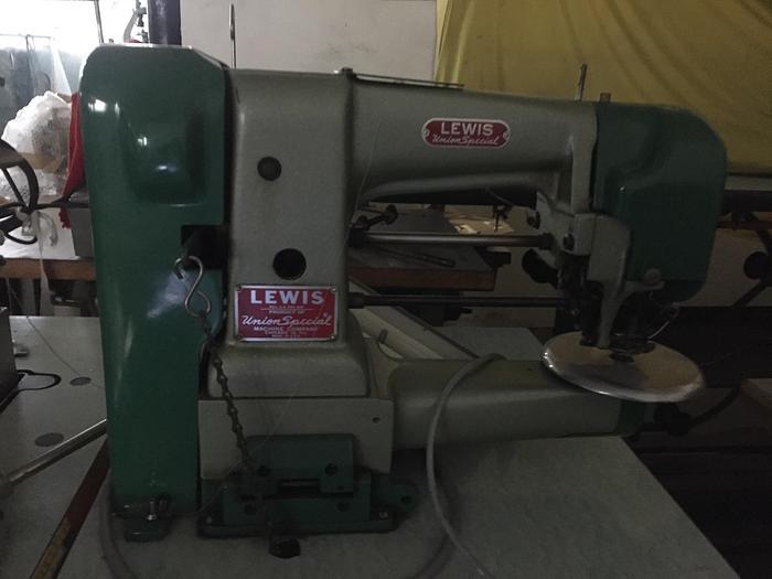 Gebraucht Etiketten-Annähmaschine LEWIS  Kl. 160-20