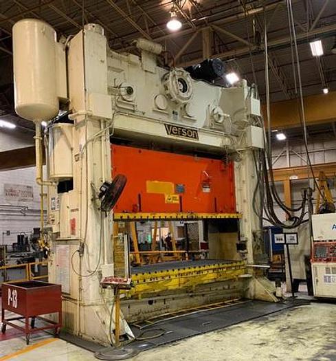 "Refurbished 600 ton Verson 144""x60"""