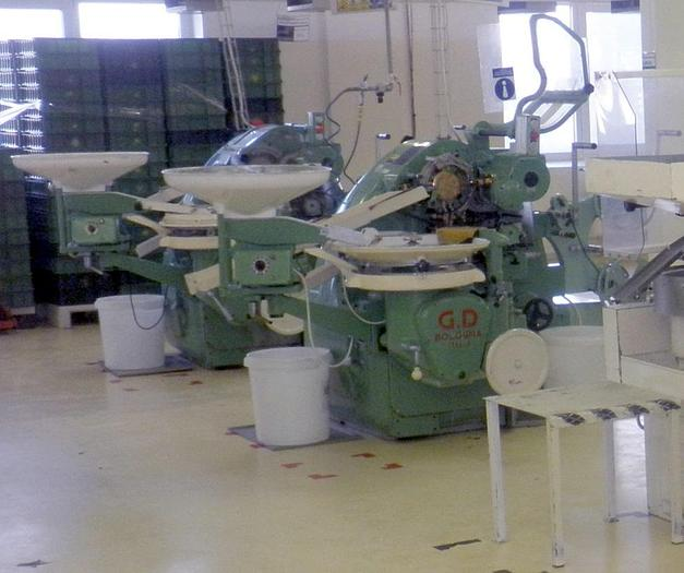 (2) Hard Candy Wrapping Machines - Vienna bonbon style