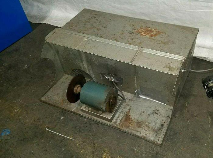 Used Portable Polishing Machine with built in Dust Collector 110 Volt