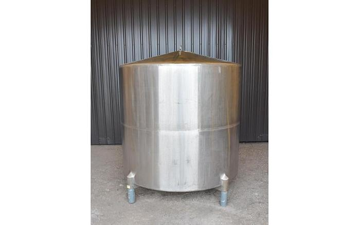 USED 950 GALLON TANK, STAINLESS STEEL