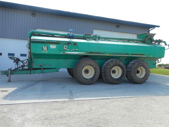 Used GEA EL48-6D6100 Manure Tanker