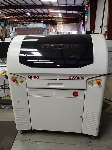 MPM UP-500/Quad AVX-500 Automatic Stencil Printer