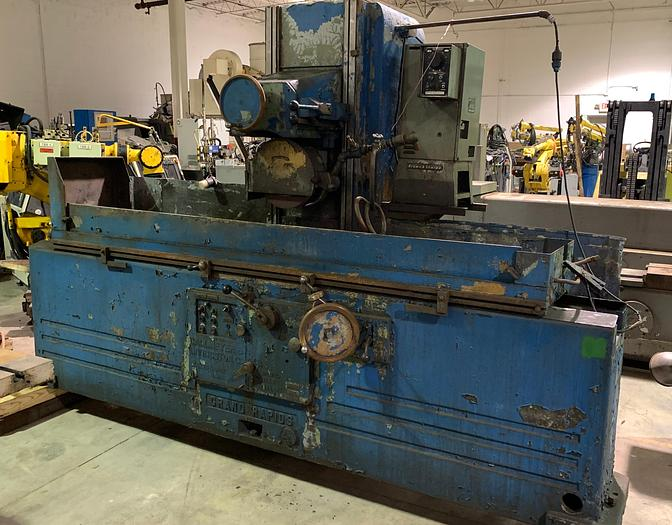 "GRAND RAPIDS 14"" X 60"" HYDRAULIC SURFACE GRINDER"