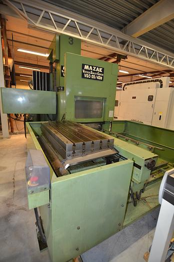 Used MV08A - Mazak  VQC 20/40 B