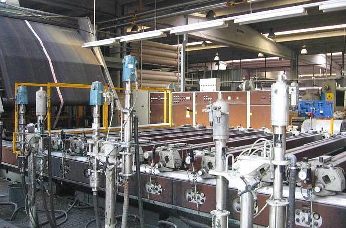 Used ROTARY PRINTING MACHINE REGGIANI  RQII
