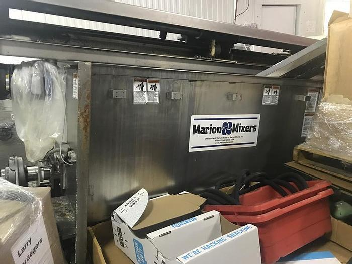 Used 45 CU. FT. MARION PADDLE BLENDER – SANITARY S/S – 15 HP (#9372)