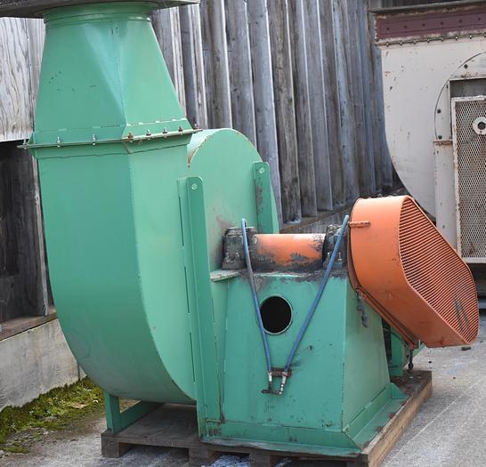 Used 40HP used paddle wheel fan, material handling fan