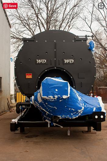 2014 Williams & Davis Boilers 700 HP Steam Boiler 150 PSI Dual Fuel  3700D-150S