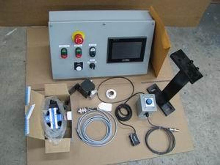 Electronic bag length control conversion kit for GEC 417/418 bag machine.