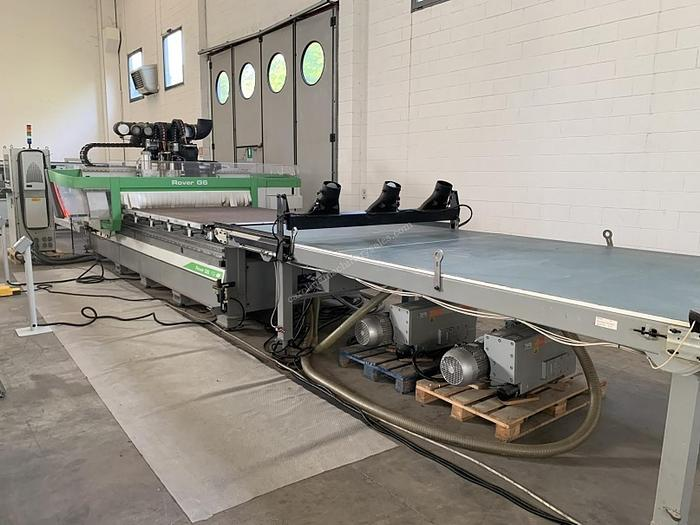 Used Biesse Rover G 6.12 CNC