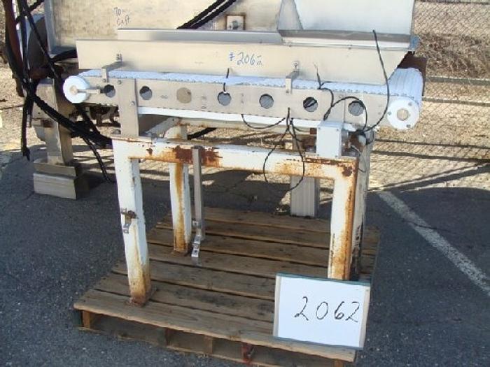Intralox Belt Conveyor 18'' wide x 52'' long #2062