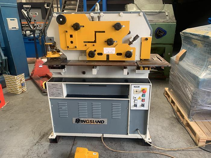 Used Kingsland compact 45. 5 station hydraulic steelworker