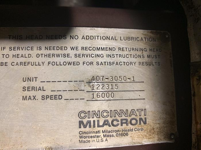 CINCINNATI MILICRON HEALD MODEL 273A ID GRINDER