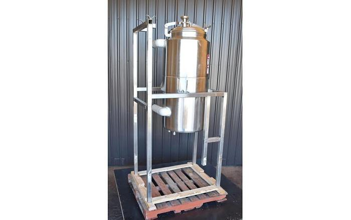 USED 60 GALLON JACKETED TANK, STAINLESS STEEL