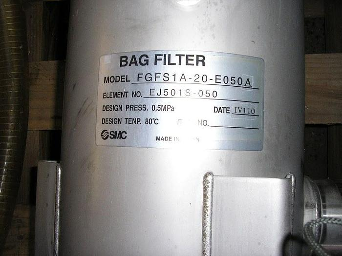 SMC Stainless Steel Bag Filters