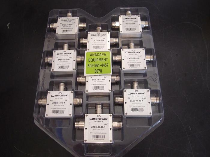 CPL Mini Circuits Coupler ZDAC-10-10-N 800-1000 MHZ (3078)