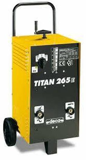 Usata Saldatrice ad elettrodo DECA mod. TITAN 265E