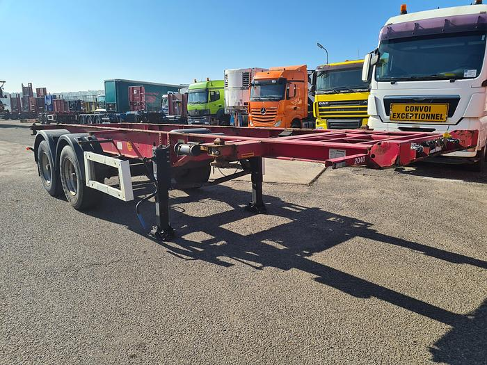 Used 2006 Krone SZC 18-1 Container chassis 20ft.