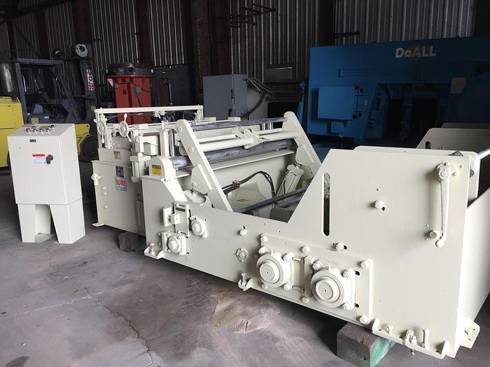 20,000 lb. x 60 in. x 14 ga. Rowe Cradle / Straightener