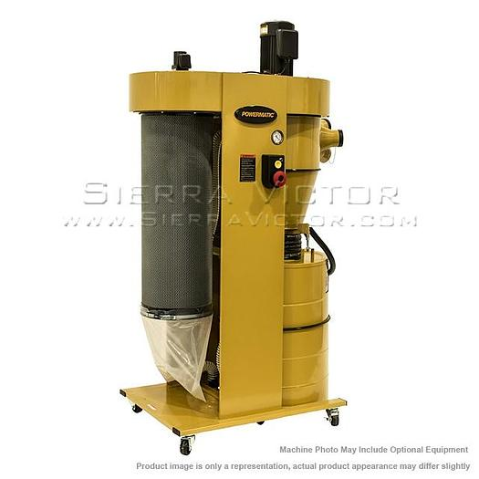 POWERMATIC PM2200 Cyclonic Dust Collector with HEPA Filter Kit 1792200HK