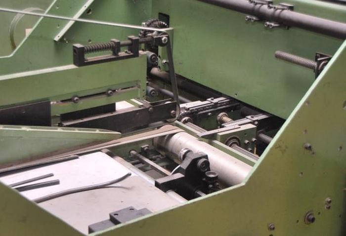 Keck SF 80 Folder-gluer for cardboard