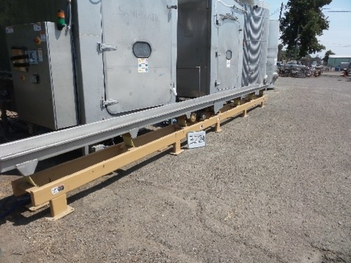 12'' Wide x 28' Long Stainless Steel Shaker/Conveyor #3224