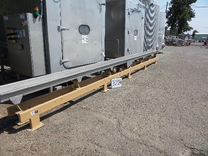 12'' Wide x 28' Long Stainless Steel Shaker/Conveyor