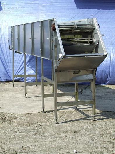 Przenośnik /urządzenie suszące-chłodzące/ 3-taśmowy