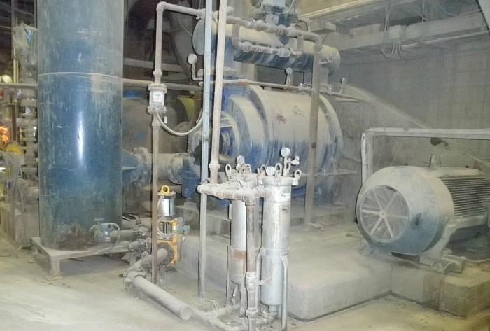Used NASH 904 P2 CAST IRON VACUUM PUMP 400HP