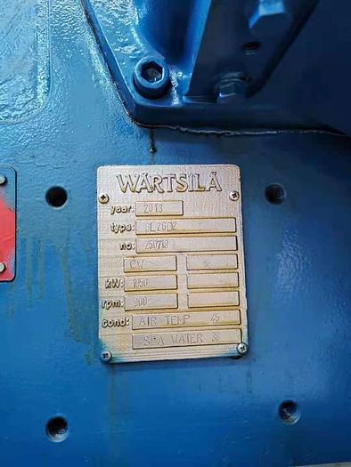 2013 Wartsila 6L26D2