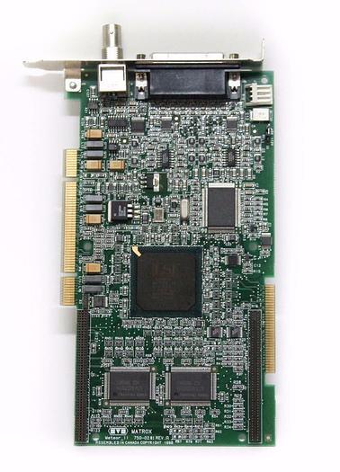 Used Matrox Meteor_II 750-02 Meteor 2/4 Frame Grabber Board (4291)