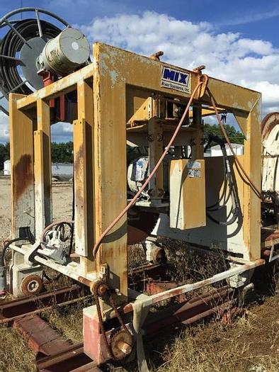 Used Mixer Systems Turret Saw