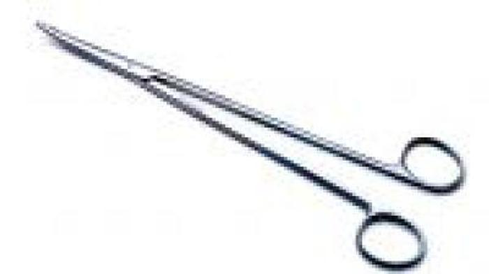 Scissor Surgical Dissecting Metzenbaum Curved 225mm (9in)