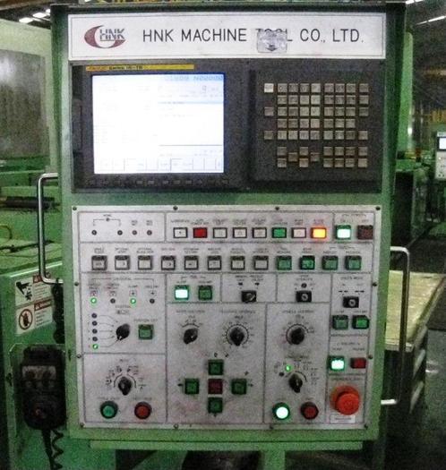 "98"" HNK CNC Vertical Boirng Mill, 119"" Swing, 79"" H/UR, 100 rpm, 55 hp, Fanuc 18i-T"