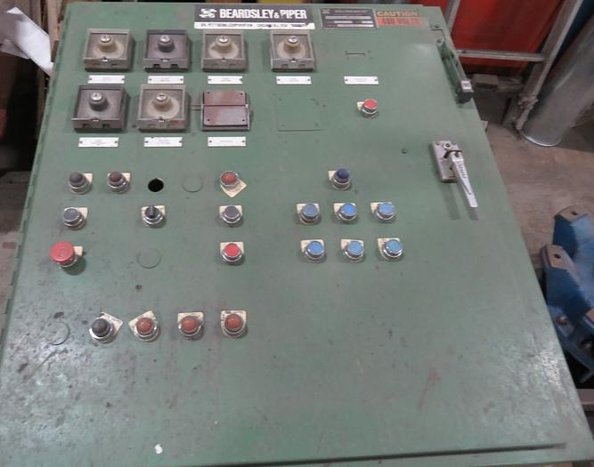 B&P 85B SPEEDMULLOR CONTROL PANEL
