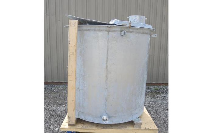 USED 270 GALLON TANK, STAINLESS STEEL