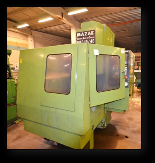 Used MV07A - Mazak VQC 15/40