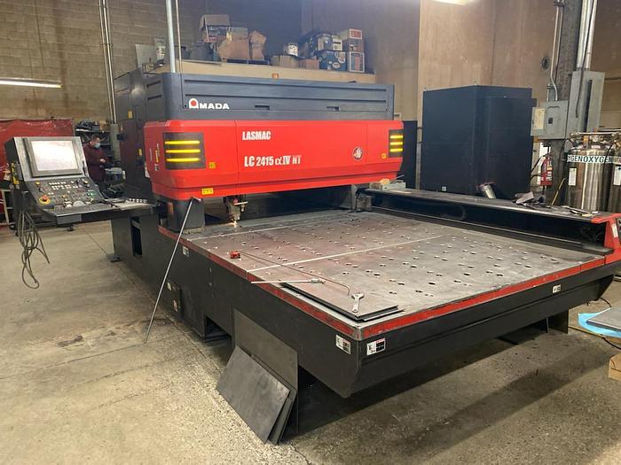 Used 2007 4000 Watt Amada Pulsar 2415-NT CNC Laser