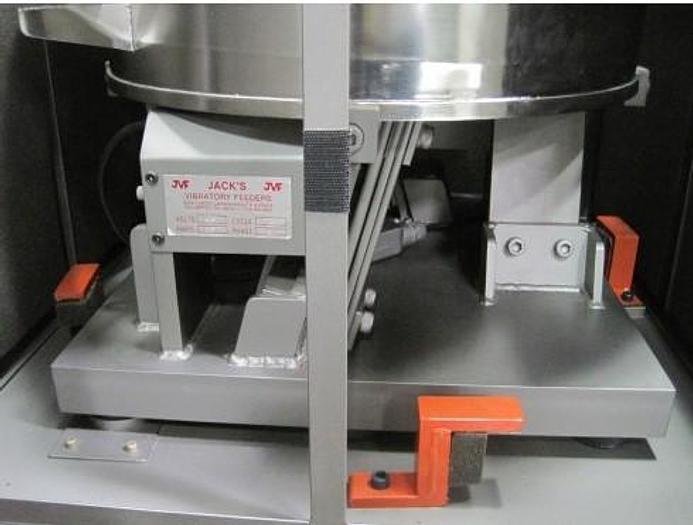 Jack's Vibratory Packaging  Feeders / Labeler