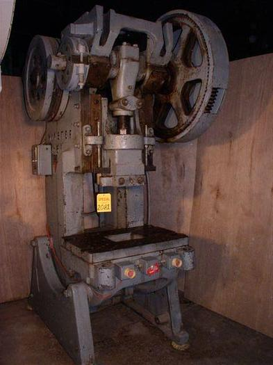Used 60 Ton Minster #6 O.B.I. Press; Mechanical Clutch; S/N 6-B553