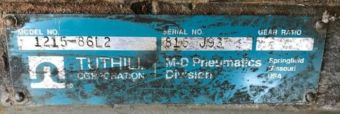 Tuthill M-D Pnuematics 1215-86L2