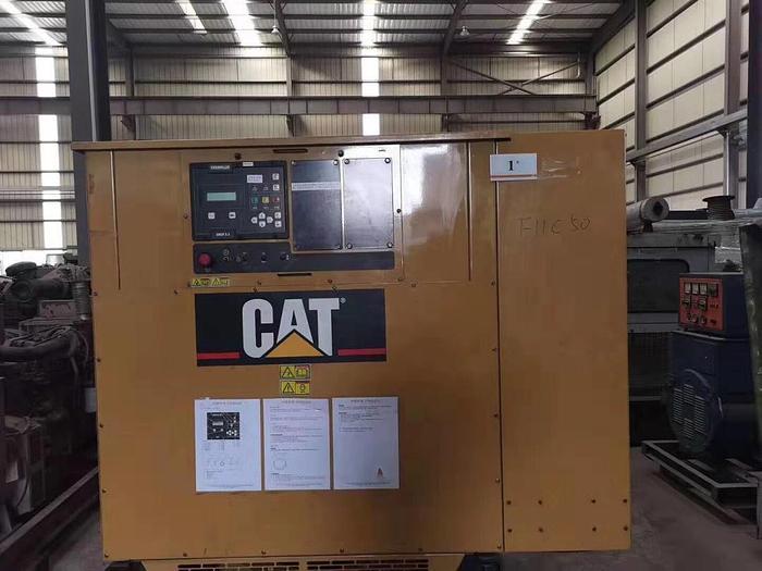Caterpillar 3512B used generator Low working hours