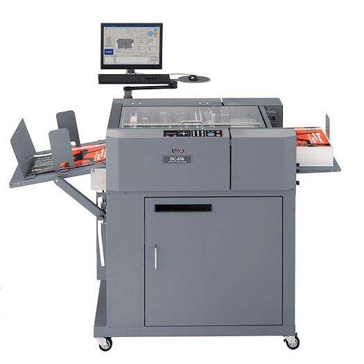 Duplo DC-616 Automatic Multi-Finisher, Creaser, Slitter, Cutter, Perforator